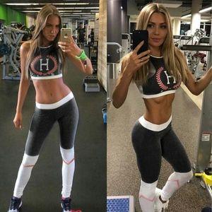 Empire Accessories Pants - 2pcs PUSH UP Sport Yoga Set Women Gym Clothing Pri